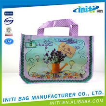 Alibaba China Supplier Christmas New Products PP Woven Shopping Bag