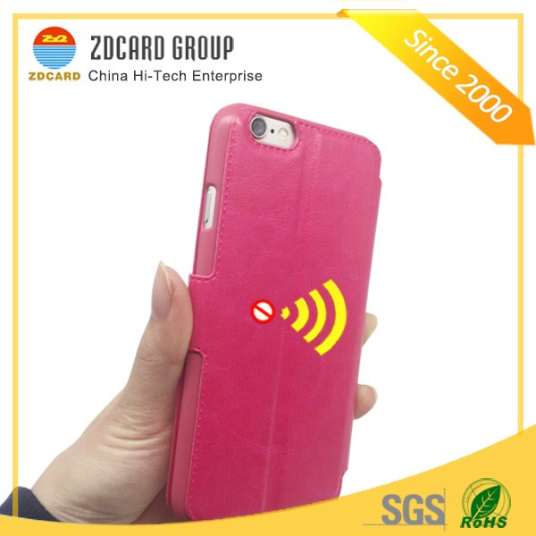 mobile phone protector card holder rfid blocking phone case
