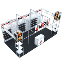trade show display modular stand exhibition for octanorm booth