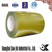 Prepainted Color Coated hot dipped structural steel density with high quality