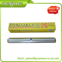 aluminium foil roll with color box