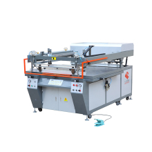 Factory supplier semi auto pvc card screen printing press machines
