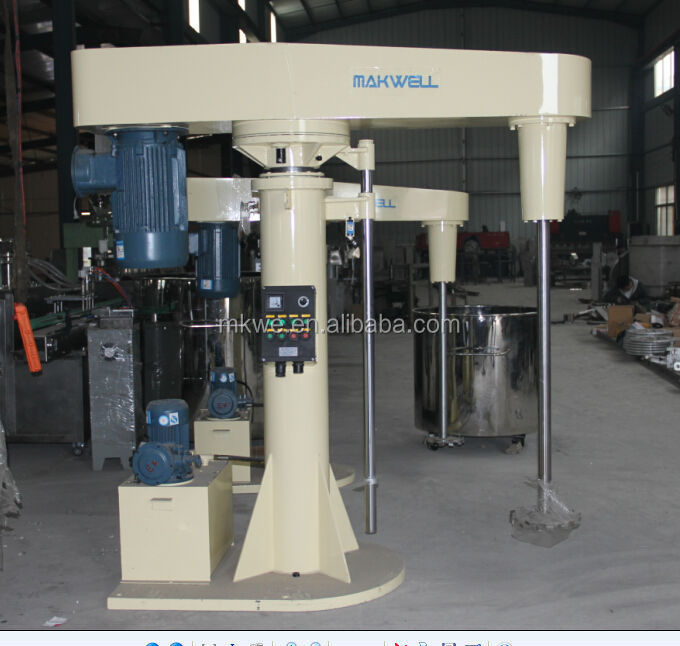 industrial paint manufacturing equipment