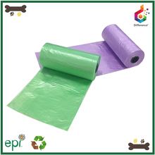 High quality custom plastic dog poop pet waste bags