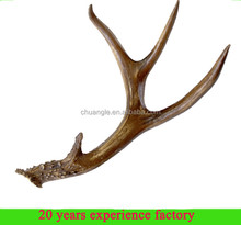 resin decorative fake artificial deer antler horn deer antlers for sell