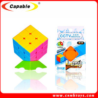 Plastic magic cube 3 x 3 baby educational toys puzzle professional