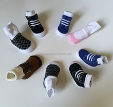 Cheapest colorful baby 100%cotton child stock socks