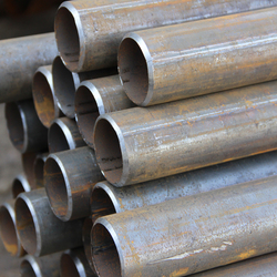 ASTM A106 Grade B ERW welded round steel pipe/tube for building material