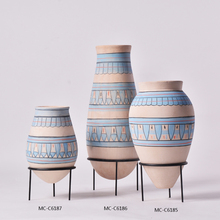 Hot sales indoor decoration gorgeous design ceramic vases