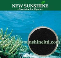 Seaweed extract fertilizer with NPK elements