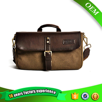 Custom waterproof camera lens bag and vintage single shoulder bag