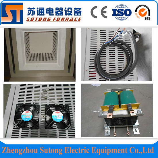Laboratory 1200c electric box muffle furnace with high performance price