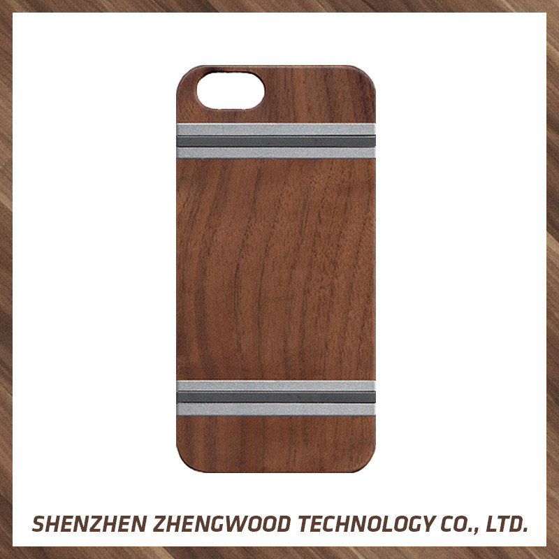 Christmas gift handmade wood phone case 2017 new design phone case for iPhone 6