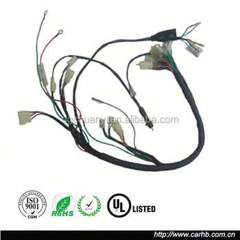 supply motorcycle wiring harness loom from china