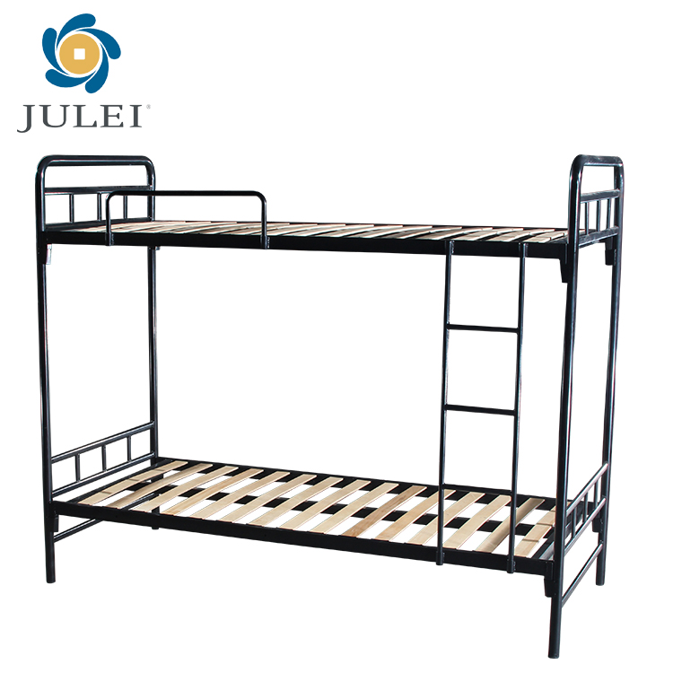 2018 Factory direct cheap army metal used bunk bed for sale