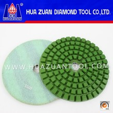 (200mm) 8 Inch Diamond Engineered Stone Polishing Pad For Marble Granite