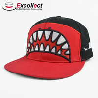 Custom Sharp Teeth Printing snapback cap
