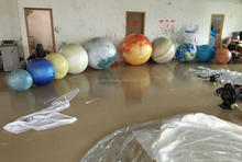 2017 Hot Sale Inflatable Planets Balloon for Decoration, Sun, Mars, Saturn Solar System Nine Planets