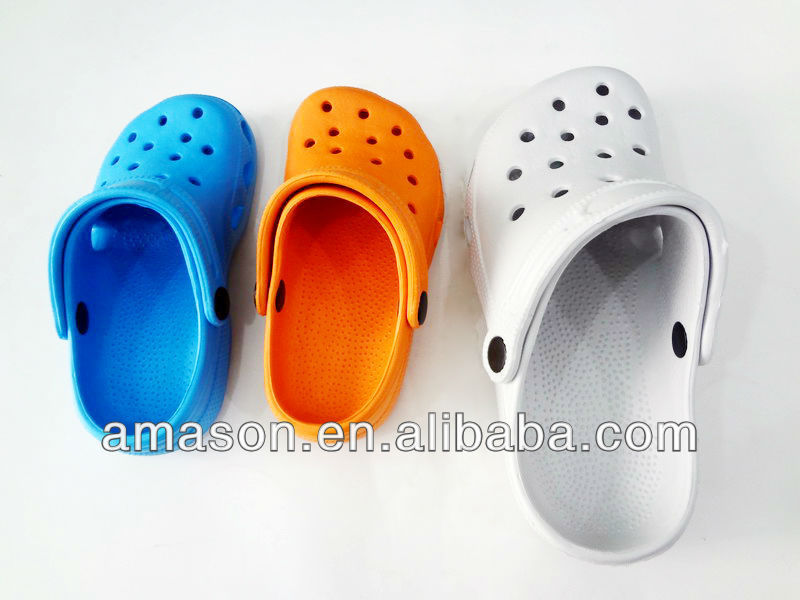 plastic children's garden shoes
