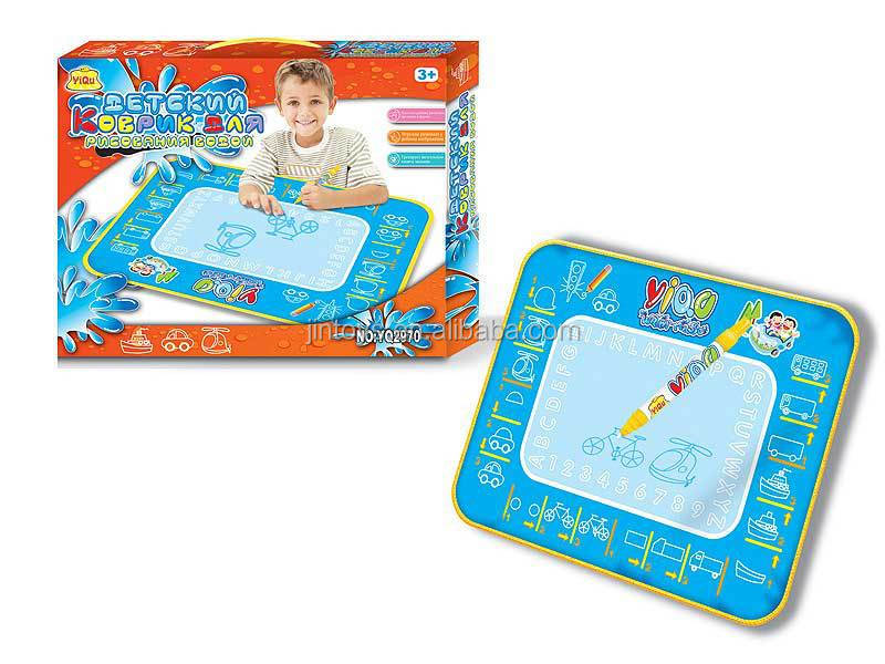 Kids Toys Plastic Doodle Magic Water Blanket, Drawing Carpet toys for wholesale, Educational Toys for children, EA011510