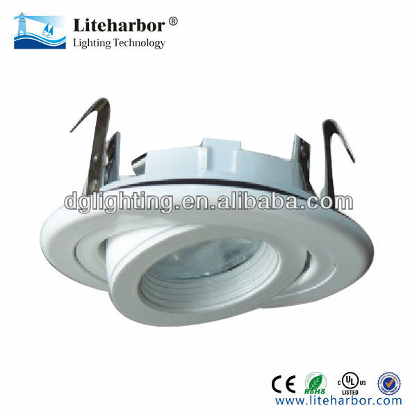 3.5 inch white led ring light for MR16 GU10 Lamp
