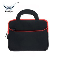 7.9 to10.1 inch Tablet Notebook Ultra-Portable Neoprene Fashion Laptop Bag with Accessory Pocket