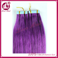 Integrity hair salon skin weft for sale buy human tape hair online supplier new purple color hair