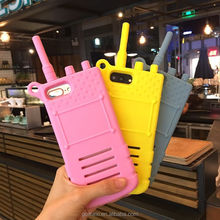 Mobile Phone Shaped Rubber Case For iPhone, Shockproof 3D Silicone Case For iPhone 6 6Plus 7 7Plus