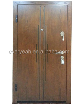 Steel Wood Armoed DOOR With Russian Type or Italian Type EJ-A-3001