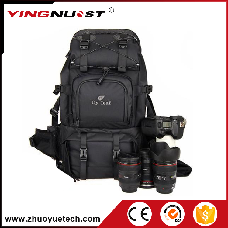 Waterproof Nylon Trendy DSLR Camera Bags Professional DSLR Camera Backpack Mountaineering Bag Photographic Bag