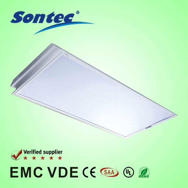 High Illuminance and Low Consumption T8 Fluorescent Office Ceiling Light Fixture