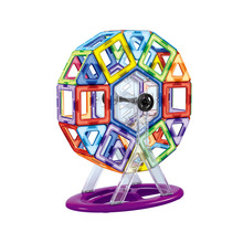 Educational chinese toys manufactures ABS magnetic intelligence building blocks