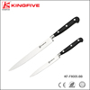 Durable carving knife & paring knife kitchen set