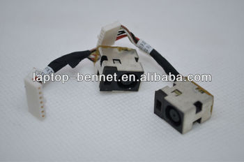 For HP DV8 PJ129 round foxconn dc power jack