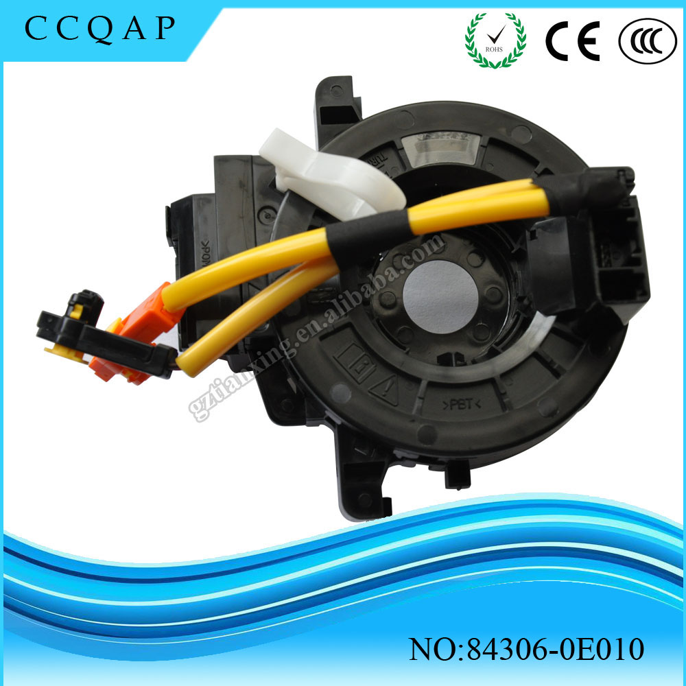 Car accessories toyota spiral cable 84306-0E010 spiral cable sub-assy clock spring airbag