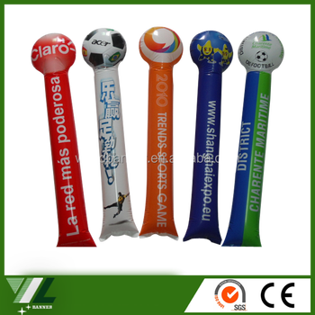 Noise maker balloon cheer spirit stick