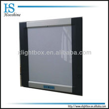 Double section x-ray film viewer/LED backlight
