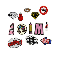 Creative Patches Embroidered Iron Patch Cloth Patch