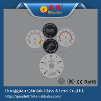 2015 High quality aluminum Dial Gauge for Water Meter,rounded aluminum printing label