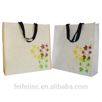 Attractive durable hot sell laminated non woven christmas tote bags