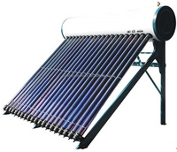 SDP-S470-58-1800-18 Compact Pressurized Solar Water Heater (stainless-steel water tank outer shell)
