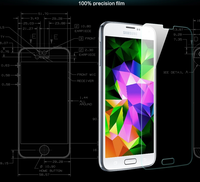 Premium anti-fingerprint 9H 2.5D tempered glass screen protector film for Samsung Galaxy Pocket G110