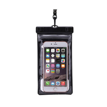 PVC Stand Plastic Waterproof Phone Case With Blister Packing Underwater
