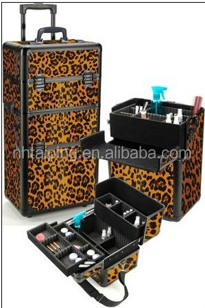 professional trolley makeup/cosmetic case