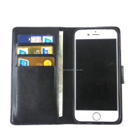 cover To inser Wallet Leather Caselichee pattern leather cell phone the credit card Leather For Iphone 6plus Case