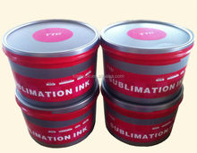 fluorescent heat transfer sublimation ink for offset printing