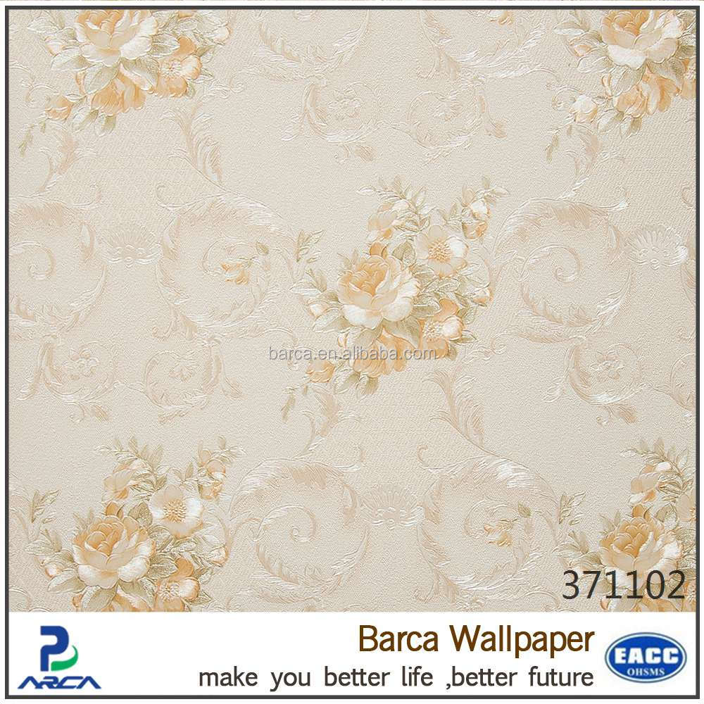 Beautiful wallpaper rose flower style wall paper/wall coating