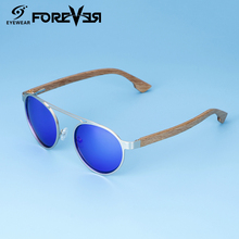 Retro fashion bamboo sunglasses lunettes de soleil sunglasses floatable sun glasses