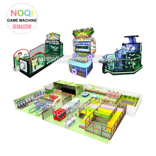 Noqi guangzhou suppliers build your own children's arcade machine multiple game