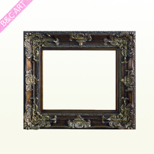 25x35 Wood Carving Sample Photo Frame Design for Decoration Painting